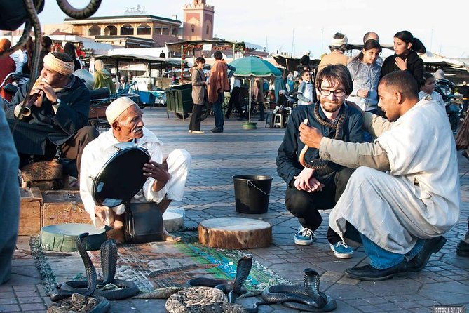 Marrakech walking tour with official city guide