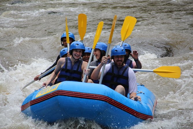 Bali River Rafting with Gourmet Balinese Lunch (licensed & insured)