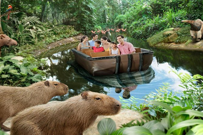 Singapore River Safari with Hotel Pick Up