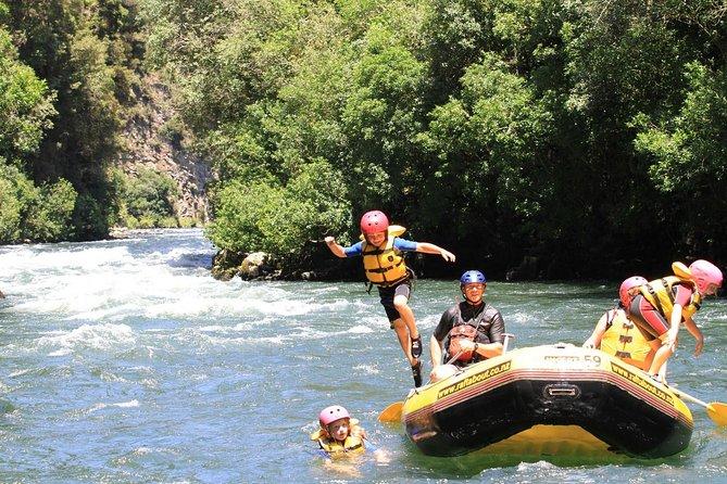 Rangitaiki River White Water Scenic Rafting from Rotorua