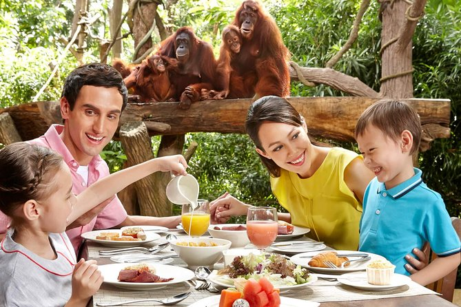 Singapore Zoo Admission with Hotel Pick Up