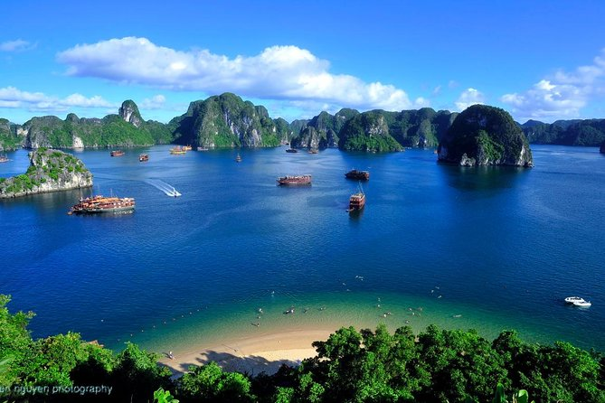 Halong Bay day tour 8 hours cruise from Hanoi city