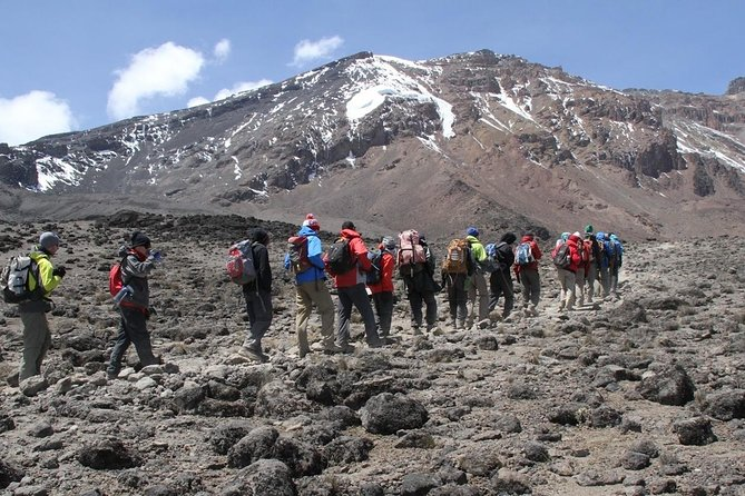 6 Days 5 Night Machame Climbing Route