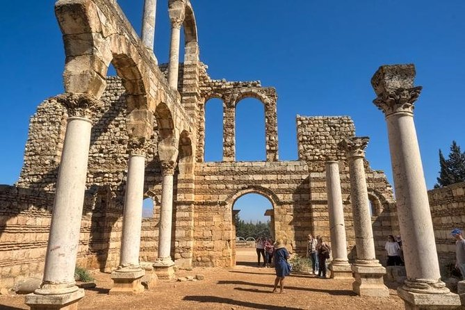 Small Group Tour with lunch - Baalbek, Anjar & Ksara