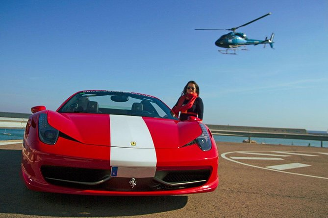 Ferrari & Helicopter Experience in Barcelona