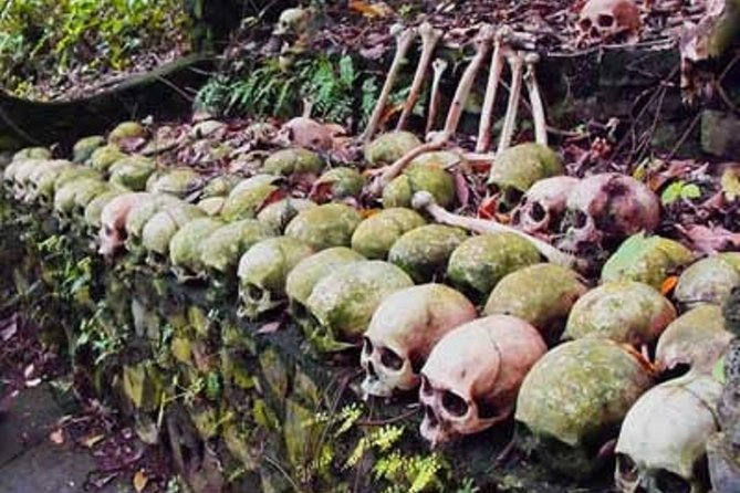 Ubud,Skulls & Bones Trunyan Village and Lake side Hot spring swimming pool Tour