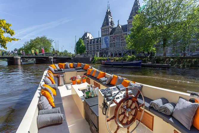 Luxury Canal Cruise starting in front of The Anne Frank House