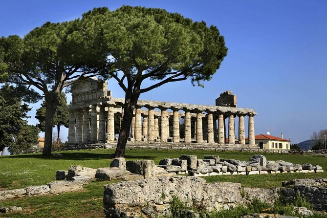 Tour of the excavations of Paestum