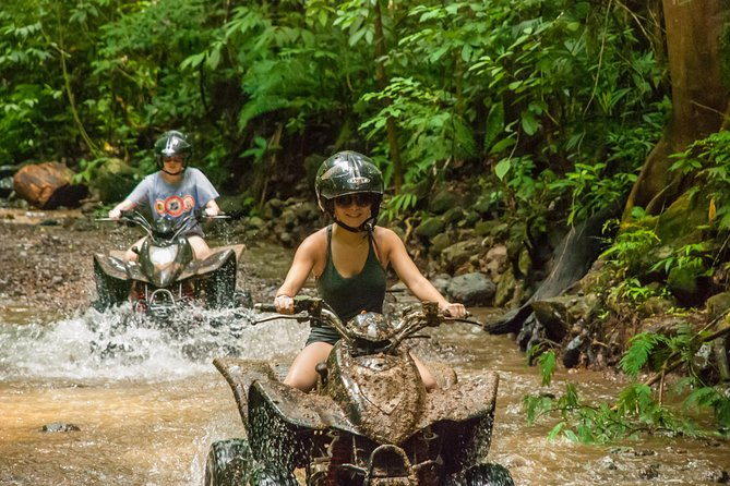 ATV adventure 2hrs and Waterfall in Jacó