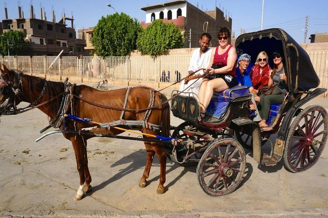Luxor City Tour By Horse-Carriage photo 1
