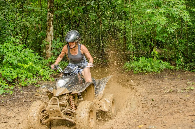 ATV adventure 3hrs and Waterfall in Jacó