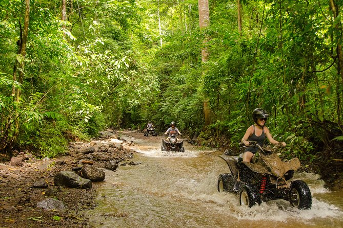 Jungle Waterfall and River Crossing ATV Tour at Jaco