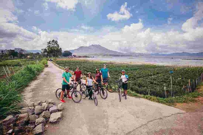 Cycle around Magnificent Mount Batur in Bali