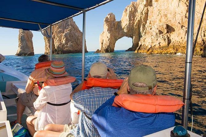 Discover Cabo San Lucas Tour! Glass Bottom Boat, Land's End Arch & City!