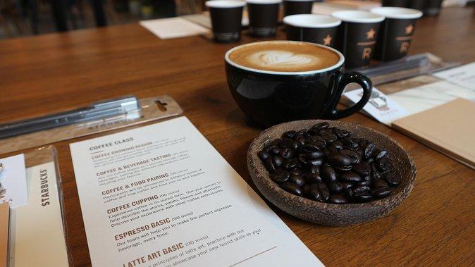 Starbucks Reserve Dewata—Latte Art Making Class