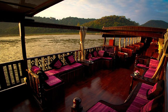 2 days Mekong downstream cruise to Luang Prabang