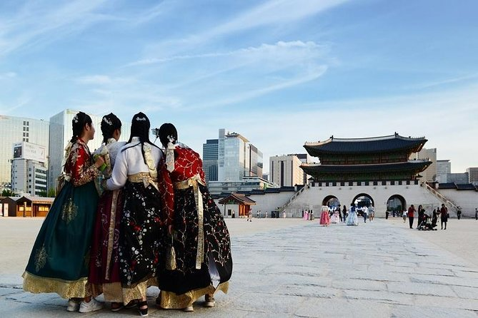 Insadong / Gyeongbok Palace / Hanok Village / Gwangjang Market (Korea Day Tour)