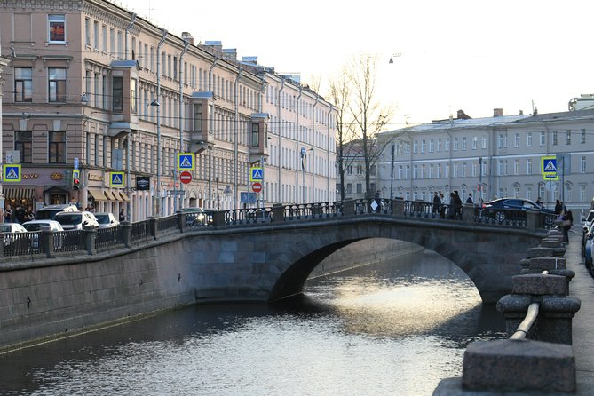 Canal in Saint Petersburg