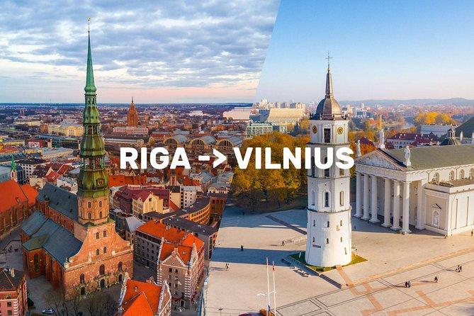 Riga-Vilnius Sightseeing Tour Bus