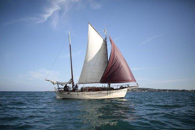 Ortigia and Plemmirio on a sailing boat