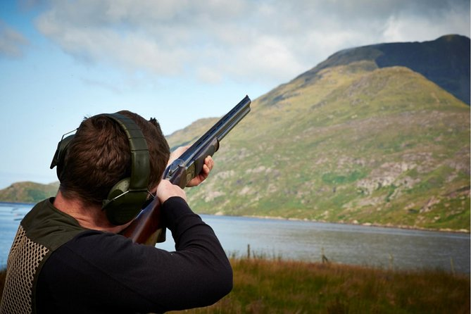 Clay Pigeon Shooting with Instructor