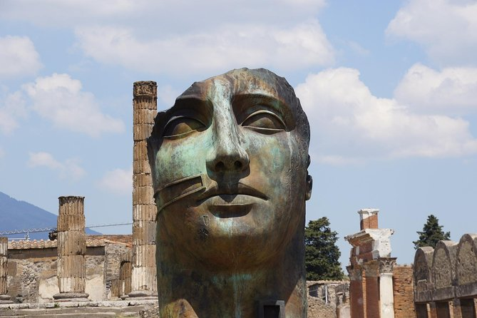 Pompeii & Royal Palace of Caserta Private Tour from Rome