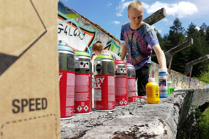 STREET ART WORKSHOP and PICNIC (enjoy the nature and paint on bobsleight)