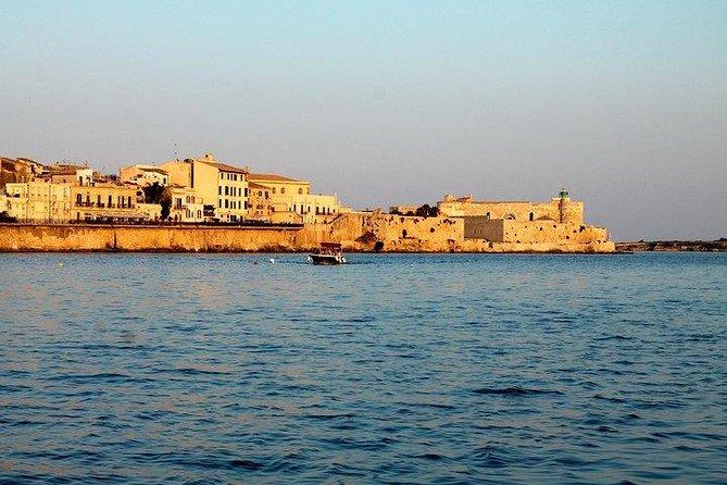 Ortigia by boat