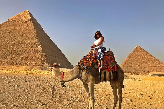 Day Tour to Giza Pyramids, Saqqara and Memphis from Cairo