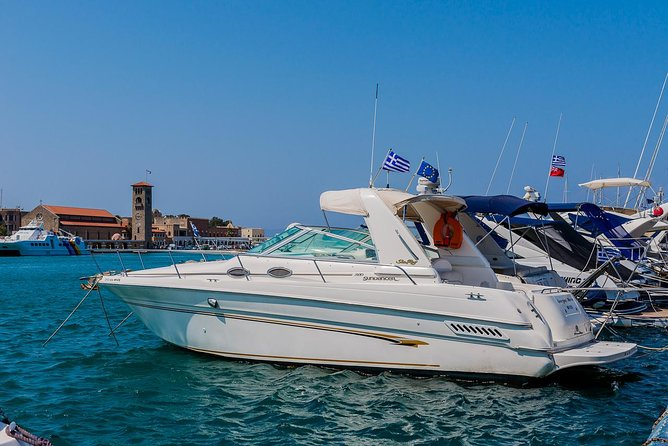 Rhodes East Coast on a Luxury Motorboat photo 6