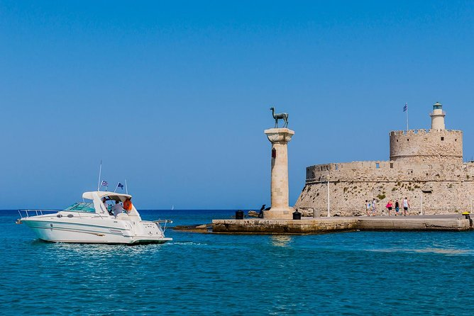 Rhodes East Coast on a Luxury Motorboat photo 4