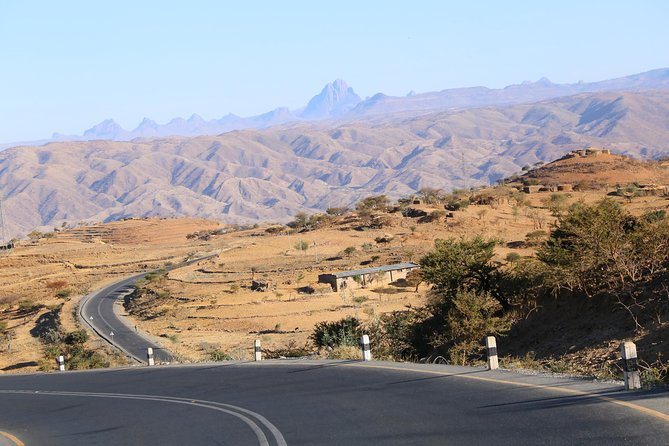 Road cycling in Ethiopia
