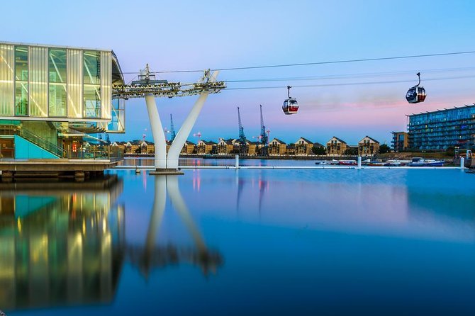 Emirates Air Line Discovery Experience och 24-timmars Hop-On Hop-Off Thames River Cruise