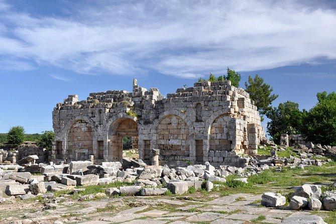 Perge, Aspendos, Side & Waterfalls Tour