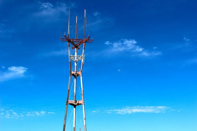 Stand at the foot of Sutro Tower
