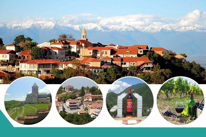 Signagi-Bodbe Kakheti Wine Tour