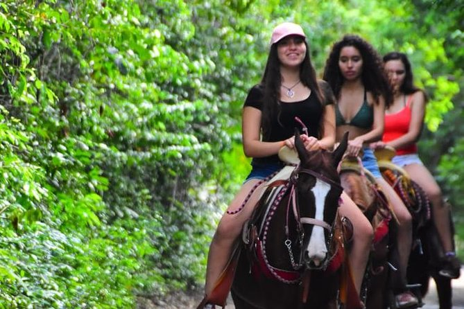 ATV Combo (Horseback, Ziplines, Cenote, Water, Lunch and Transfer Included)