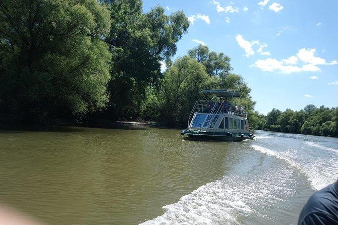 Danube Delta tour, departure Tulcea port ...