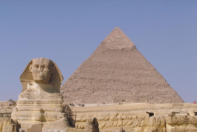 Explore Pyramids of Giza & the Egyptian Museum Tour with Dinner Cruise by Night