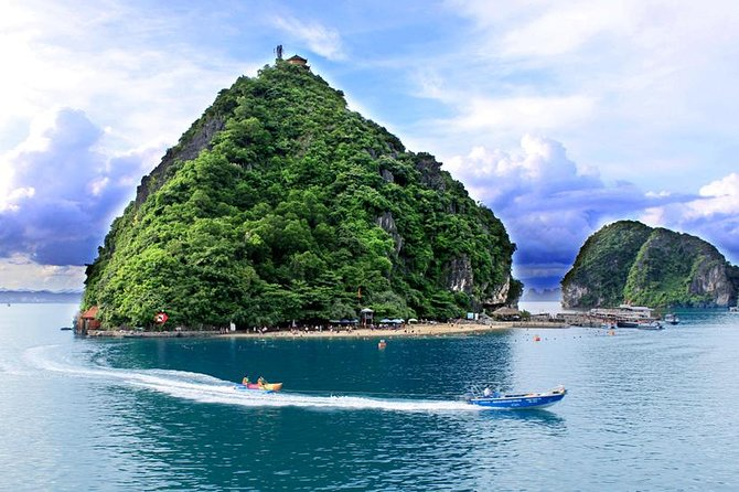 Halong Bay day tour 8 hours cruise from Hanoi city with luxury van