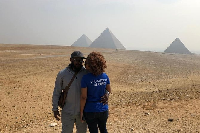 Day Tour: Giza pyramids and Memphis and Saqqara