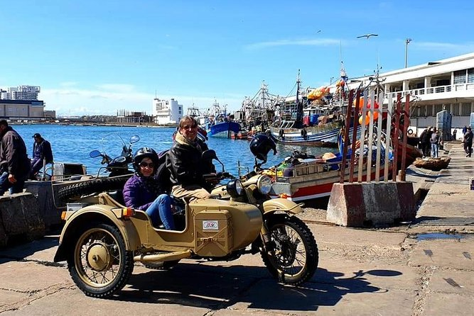 Retro Tour Sidecar in the Casablanca origins