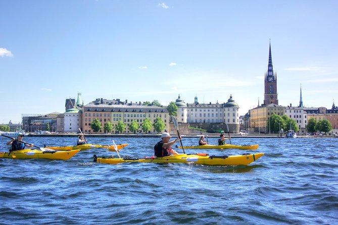 Stockholm City Kayak Tour