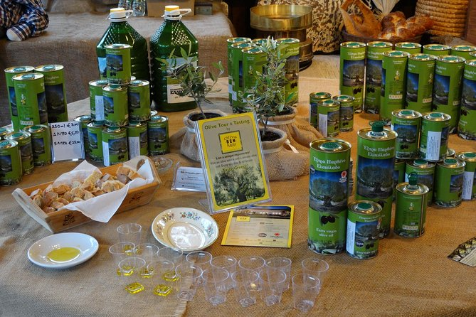 Olive Tour & Tasting