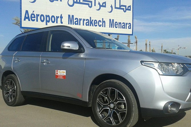 Private airport transfer from RAK to Marrakech city, or the inverse.