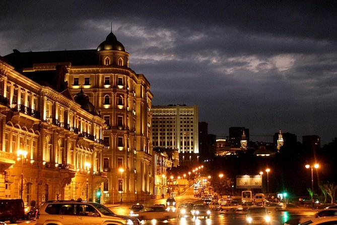 Baku night walking tour