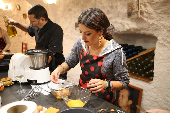 Cook Spanish Food in a Historical Flamenco Gypsy Cave (Three-course meal)