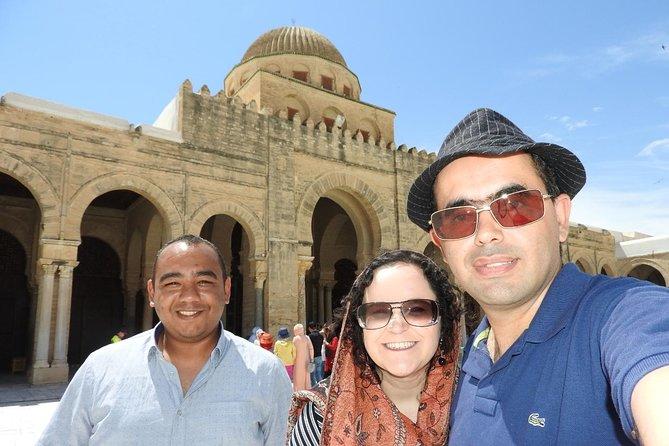 Tour Kairouan, Colosseum of El Djem and Monastir (With professional guide)