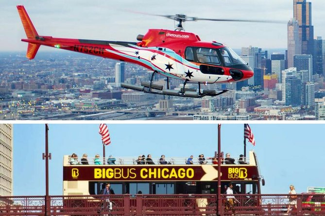 Big Bus Chicago Hop-on Hop-off and Helicopter Tour photo 11