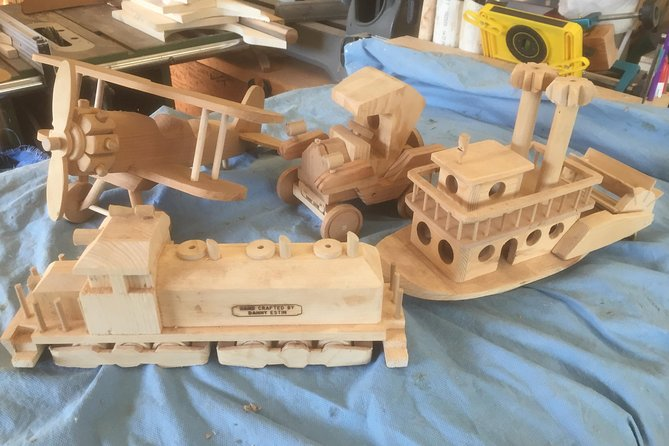 Accommodations and Build A Wooden Heirloom Toy